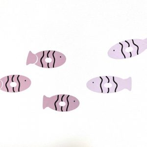 fishie fishies muurstickers